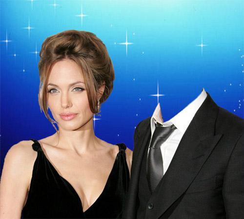 Шаблоны со знаменитостями: С А. Джоли
