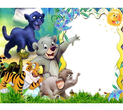 Рамки с героями мультфильмов: Любимые герои