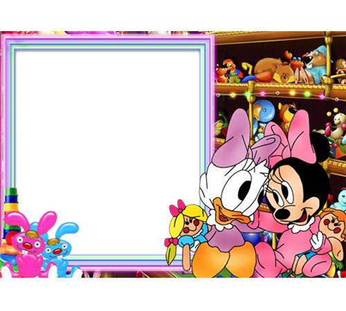 Детские шаблоны для фотошопа: Веселые мультяшки