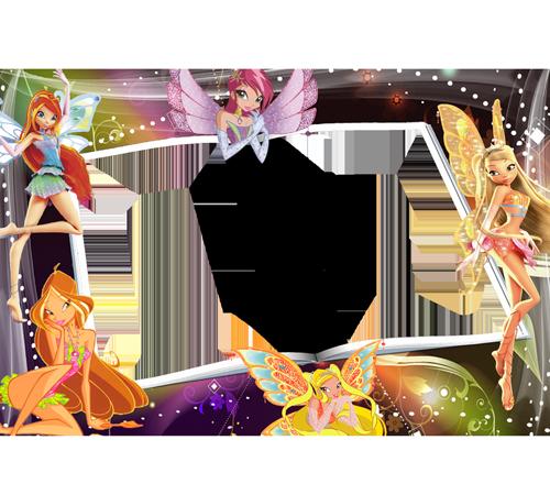 Детские рамки для фотошопа: Сказочные феи