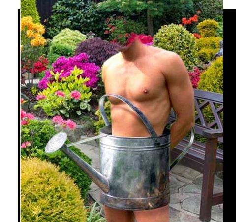 Приколы фотошопа для мужчин: Просто садовник