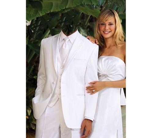 Мужские шаблоны для фотошопа: В белом костюме