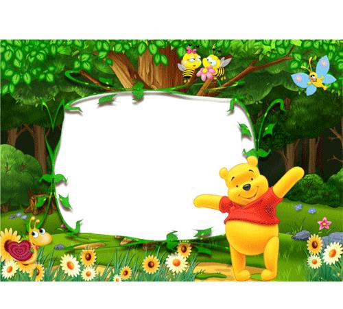 Детские рамки для фотошопа: Веселое лето!
