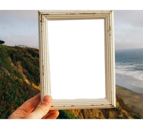 Женские рамки для фотошопа: Мы были на море!