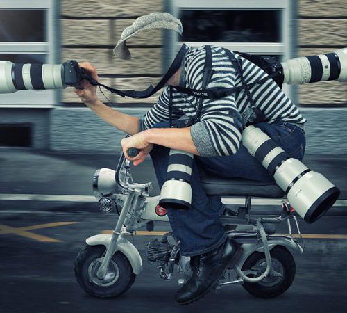 Шаблоны - профессии: Фоторепортер