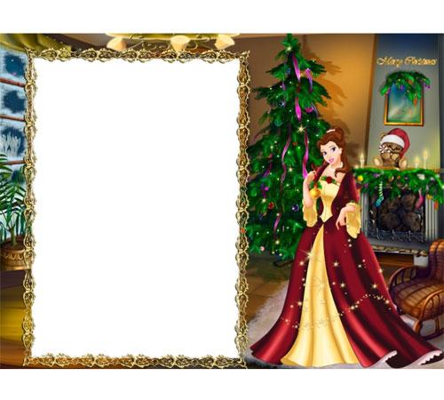 Детские рамки для фотошопа: Сказочная ёлка
