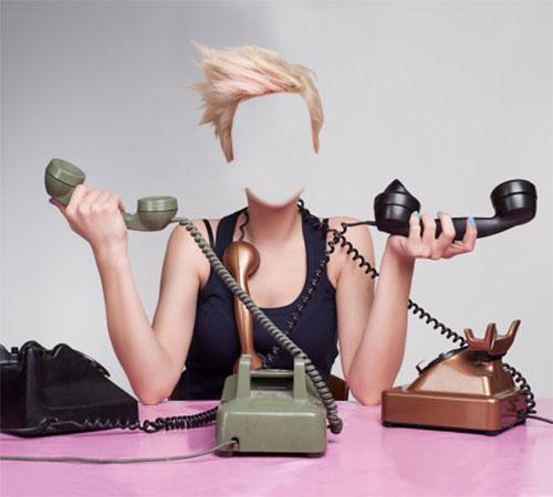 Приколы фотошопа для женщин: У меня зазвонил телефон!