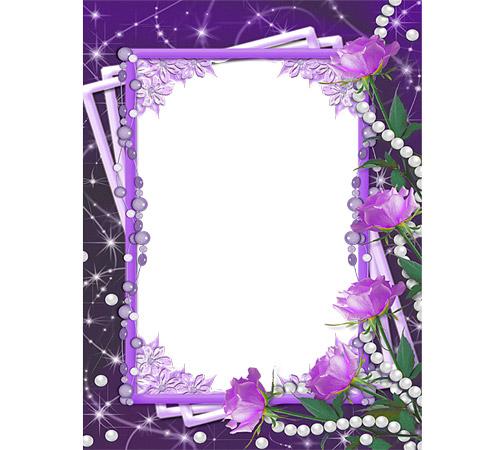 Рамки с цветами для фотошопа: Прекрасные розы