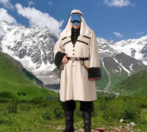 Мужские шаблоны для фотошопа: Грузинский костюм